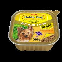 Hobby DOG Junior – консерва за подрастващи кучета с пилешко, 300 г, с високо съдържание на месо
