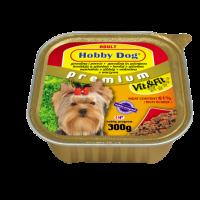 Hobby DOG Adult – консерва за кучета с говеждо и зеленчуци, 300 г, с високо съдържание на месо