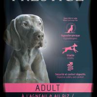 Prestige ADULT Lamb & Rice 12кг – Пълноценна храна за пораснали кучета от всички породи. Подходяща също и за чувствителни кучета.