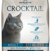 Crocktail ADULT STERILIZED with Fish Пълноценна храна за кастрирани котки с риба 400 g