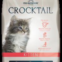 Crocktail KITTEN Пълноценна храна за малки котенца, за женски котки в края на бременността и в период на кърмене 400 g