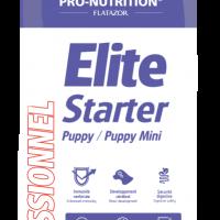 Elite Starter Puppy / Puppy Mini 8 kg Пълноценна храна за подрастващи кучета от мини породи, както и за женски кучета от дребни породи в края на бременността или в периода на кърмене.