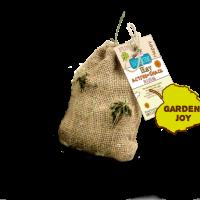 """Bunny Heu Active-Snack – Интерактивен снакс от сено + добавки """"Градинско щастие"""" – Допълваща храна за декоративни зайчета и други гризачи: зайци, морски свинчета, чинчили, дегута, хамстери, мини хамстери, мишки, джербили и плъхове"""