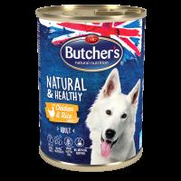 Butchers Natural & Healthy Pate 1200г – Пастет за кучета с пилешко и ориз