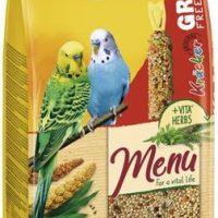 Храна за вълнист папагал Premium Menu 1кг + безлатен крекер