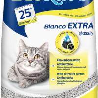 Biokat's Bianco EXTRA classic 5 kg – котешка тоалетна с активен въглен без неприятна миризма