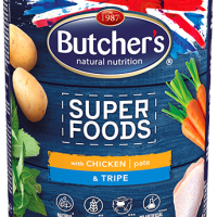Butcher's Superfoods 400г – Пастет за кучета, с пилешко и шкембе