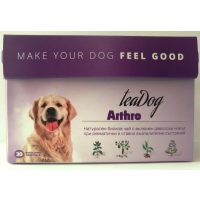 """Чай за куче """"Артро"""" 30 броя – Arthro Tea Dog – за ревматични, артритни и възпалителни промени в ставите."""