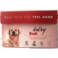 """Чай за куче """"Крафт"""" 30 броя – Kraft Tea Dog – за укрепване на естествената защита и имунната система."""