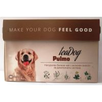 """Чай за куче """"Пълмо"""" 30 броя – Pulmo Tea Dog – за респираторни заболявания."""