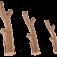 GimDog Boom Tak – Играчка за кучета – клонка за гризане  с вкус на бекон, размер S