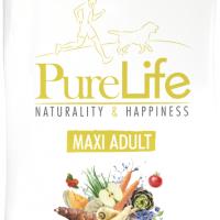 ПРОМОЦИЯ! 12+1 кг – Пълноценна храна за пораснали кучета от едри породи – Pro-Nutrition Flatazor PureLife Maxi Adult – без зърнени храни, 85% протеини от животински произход