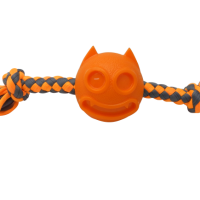 """GimDog Играчка за куче – въже дърпалка """"Чудовище"""" с 2 възела – диаметър 5,2 cm"""