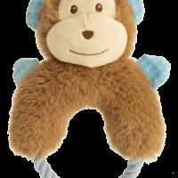 GimDog Играчка за куче – маймунка с въженце, пищяща