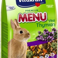 Храна за декоративни зайци с мащерка – 1кг Vitakraft Premium Menu Vital