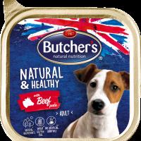Butcher's Natural & Healthy Pate 150г – Пастет за кучета с говеждо