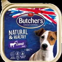 Butcher Natural & Healthy Pate  Пастет за кучета с агнешко – 150г