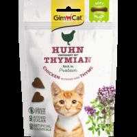 GimCat Soft Snack – Меки месни бисквити за котка с пиле и мащерка, 60 г