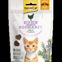 GimCat Crunchy Snack – Хрупкави лакомства за котки с пиле и розмарин, 50 г