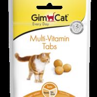 GimCat Multi-Vitamin Tabs – Мулти-витаминни таблетки, 40 г