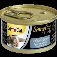 Консерви за котки – риба тон и скариди 70г – GimCat Shiny Cat