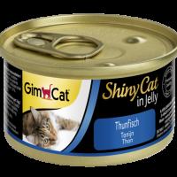 Консерви за котки – риба тон в желе 70 г – GimCat Shiny Cat