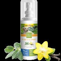 P-On Site Spray – Привличащ спрей 100 мл (помага за създаването подходящи места за уриниране) – GimDog Natural Solutions – с градински чай и ванилин