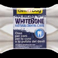 GimDog Whitebone 2 бр, 11,5 см – Бял кокал за кучета за естествена дентална грижа