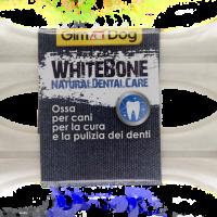 GimDog Whitebone 2 бр, 14 см – Бял кокал за кучета за естествена дентална грижа