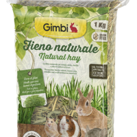 Gimbi Натурално сено за гризачи, 1 кг
