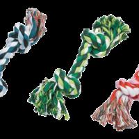 GimDog Cotton Dent – играчка за куче, дърпалка въже с 2 възела, 20 см