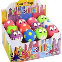 GimDog играчка за куче – каучукова топка 6см