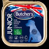 Butcher  Functional Junior 150г – Пастет за подрастващи кучета, с пуешко и говеждо