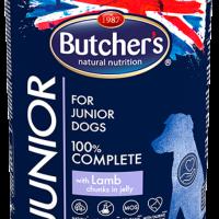 Butcher Functional Junior 400г – Хапки в желе за подрастващи кучета, с агнешко