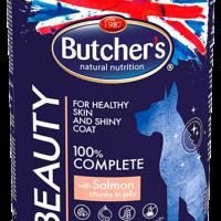Butcher's Functional Beauty 400г – Хапки в желе за кучета, със сьомга