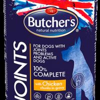 Butchers Functional Joints 400г – Хапки в сос грейви за кучета със ставни проблеми, с пилешко