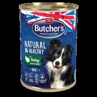 Butcher's Natural  Healthy 400г – Хапки в желе за кучета, с пуешко