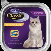 Butcher's Classic Pro Series Indoor 100г  – Пастет  за котки, живеещи в домашни условия, с пилешко