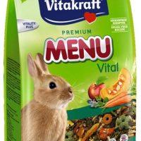 Храна за декоративни мини зайци – 5кг Vitakraft Premium Menu Vital