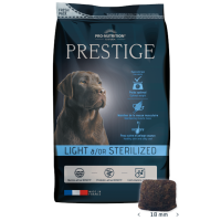 Prestige Adult LIGHT OR STERILIZED – суха гранулирана храна за кастрирани кучета – 3 kg