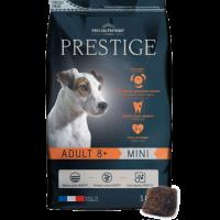 Prestige ADULT 8+ MINI Пълноценна храна за кучета от дребни породи на възраст над 8 години 3 kg