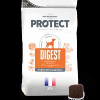Пълноценна диетична храна за кучета с храносмилателни проблеми, 2 кг – Pro-Nutrition Flatazor Protect Digest – защита на черния дроб, оптимално храносмилане, 73% протеини от животински произход