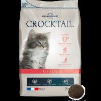 Crocktail KITTEN Пълноценна храна за малки котенца, за женски котки в края на бременността и в период на кърмене 2 kg