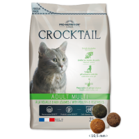 Crocktail ADULT MULTI – Poultry  Vegetables Пълноценна храна за пораснали котки, предпочитащи комбинация от вкусове С МЕСО ОТ ДОМАШНИ ПТИЦИ И ЗЕЛЕНЧУЦИ 2 kg