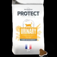 Пълноценна диетична храна за котки с уринарни проблеми, 2 кг – Pro-Nutrition Flatazor Protect Urinary – редуцира новообразуването на струвитни камъни в бъбреците, подобрява функцията на отделителната система, 61% протеини от животински произход