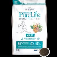 Pure Life Cat ADULT С ПАТЕШКО И ПУЙКА 2 kg – без зърнени храни, 85% протеини от животински произход