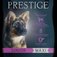 Prestige JUNIOR Maxi 3 кг – пълноценна храна за кученца от едри периоди през фазата на растеж