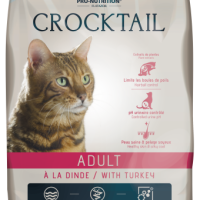 Crocktail ADULT with Turkey Пълноценна храна за пораснали котки С ПУЙКА 10 kg