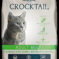 Crocktail ADULT MULTI – Poultry & Vegetables Пълноценна храна за пораснали котки, предпочитащи комбинация от вкусове С МЕСО ОТ ДОМАШНИ ПТИЦИ И ЗЕЛЕНЧУЦИ 10 kg