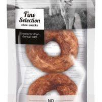 GimDog – FINE SELECTION – Понички (Донутс) за дъвчене от сурова говежда кожа + патица, 40 г